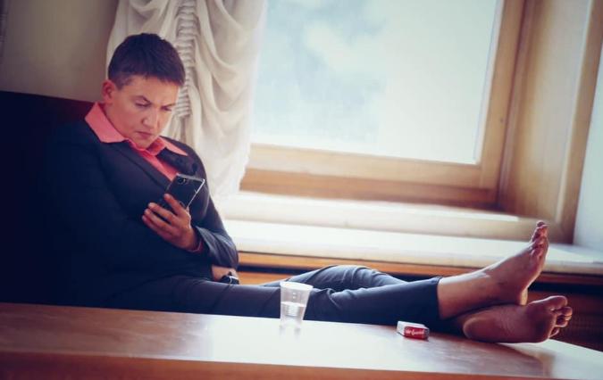 """&quotВона їх не миє?"""": Нова витівка Савченко шокувала українців - today.ua"""