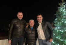 Саакашвілі переїхав до Одеси: на новосілля прийшов Сенцов - today.ua