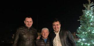 """Саакашвілі переїхав до Одеси: на новосілля прийшов Сенцов"""" - today.ua"""