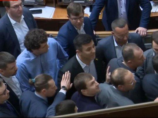 Перша бійка: в Раді сталися сутички між Тищенком і нардепом від ОПЗЖ - today.ua