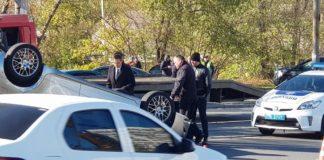 У Дніпрі прокурор на Lexus влаштував ДТП: підозрюють, що був п'яний - today.ua