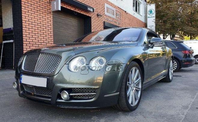 В Украине засняли дорогой Bentley с ГБО - today.ua