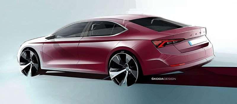 Skoda представила перші зображення нової Octavia