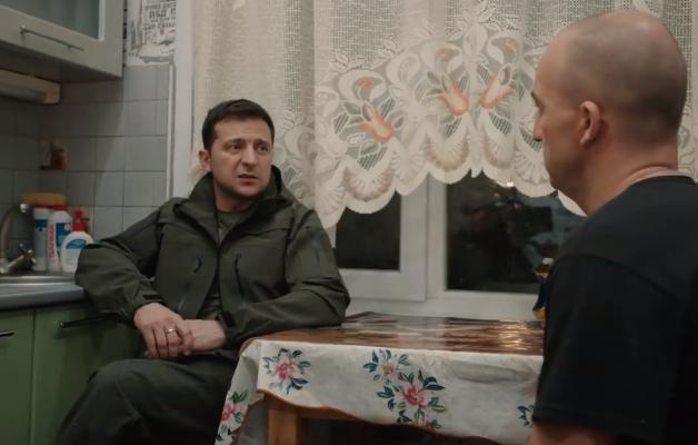 Появилось видео, как Зеленский ночевал в Золотом на Донбассе - today.ua