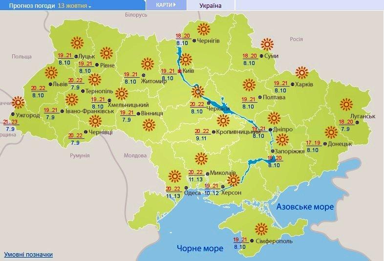 """В Україну прийшло """"бабине літо"""": синоптики порадували прогнозом на вихідні"""