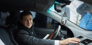 """Автомобили Зеленского: на чем ездил президент Украины"""" - today.ua"""