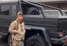 Василий Ломаченко похвастался шестиколесным Mercedes-Benz: опубликовано видео - today.ua