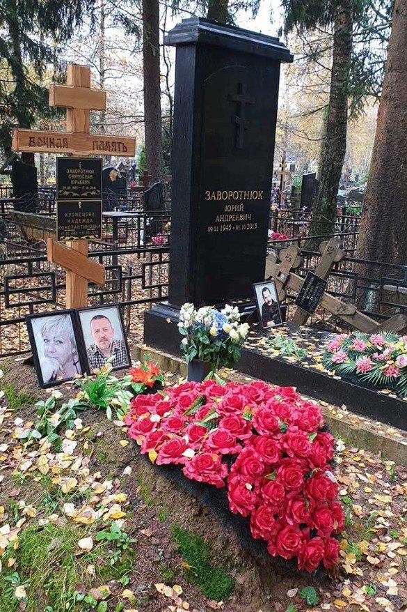 Влада надала безкоштовне місце на кладовищі для Заворотнюк