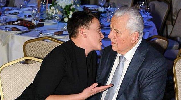 """""""Дід поплив"""": в соцмережі висміюють фото Савченко з Кравчуком - today.ua"""