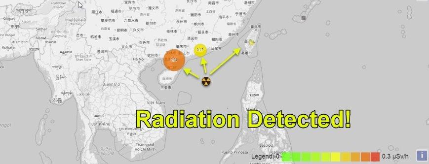 Потужніше за Хиросиму: у Південно-Китайському морі вибухнув атомний підводний човен