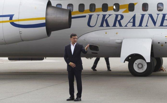 ЧП: У президентського літака відмовив двигун - today.ua