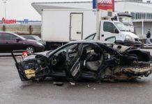 Момент страшної аварії на Окружній у Києві потрапив на відео - today.ua