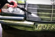Як виглядає Mercedes, який не мили 30 років - today.ua
