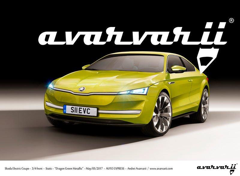 Нову Skoda Octavia купе показали в Мережі