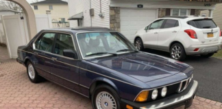 Роскошный BMW 7 серии продают по цене Логана - today.ua