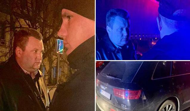 Пьяный экс-прокурор на Audi Q7 устроил дебош в Киеве - today.ua