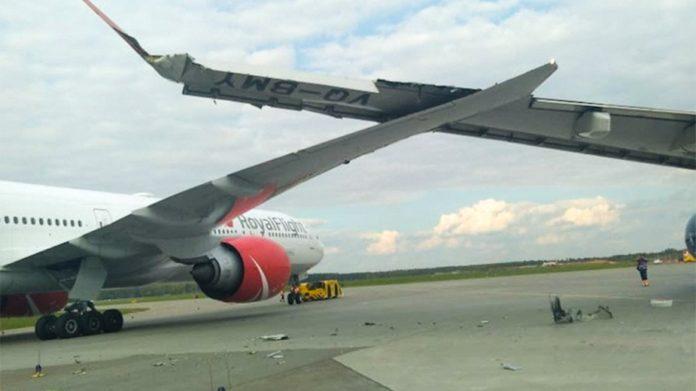 У Шереметьєво зіткнулися два літаки з пасажирами - today.ua