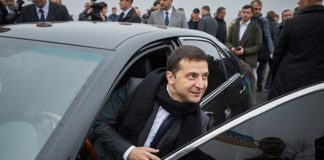 Кортеж Зеленского заблокировали в Харькове: что происходит - today.ua