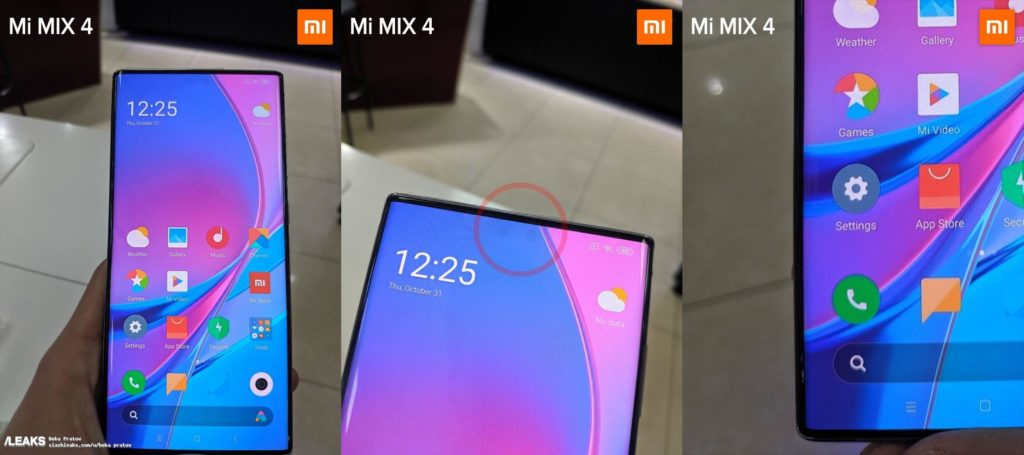 Обійшов Samsung: з'явились фото революційного Xiaomi Mi Mix 4