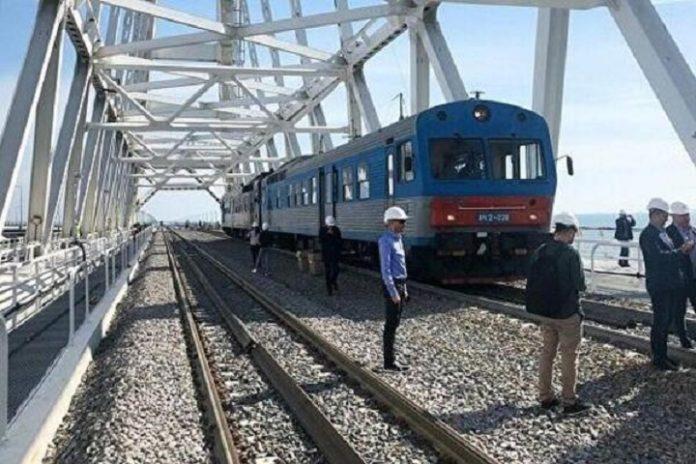 Військова логістика: для чого окупанти запустили потяг по Кримському мосту - today.ua