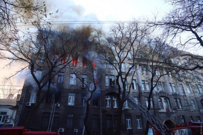Пожар в одесском колледже: найдено тело еще одной погибшей - today.ua