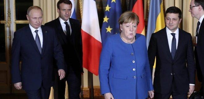 Опубліковано відео історичної зустрічі Зеленського з Путіним у Парижі - today.ua