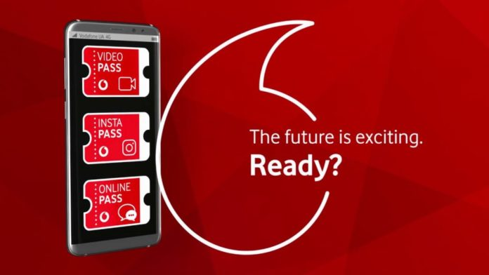 Vodafone предлагает новую услугу: 3 выгодных безлимита почти даром