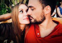 Знову разом: Слава Камінська злилася в гарячому поцілунку з колишнім чоловіком - today.ua