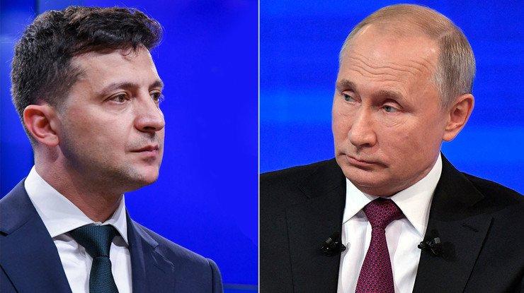 Обменялись любезностями по телефону: Зеленский и Путин поздравили друг друга с Новым годом  - today.ua