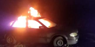 """""""Евробляхер"""" в знак протеста сожгла свой автомобиль и обратилась к Зеленскому (видео)"""" - today.ua"""