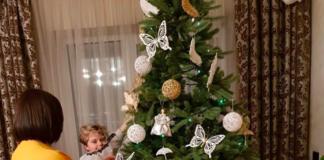 Алла Мазур показала сына и свою новогоднюю ёлку - today.ua