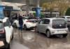 Владельцы электромобилей заблокировали АЗС: что происходит - today.ua