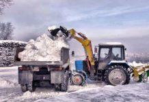 30 тонн снега в Киев из Карпат: для соревнований сформируют большую горку - today.ua