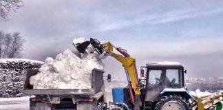 """30 тонн снега в Киев из Карпат: для соревнований сформируют большую горку"""" - today.ua"""