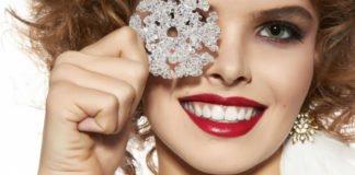 Темна помада, блискітки і широкі стрілки: які головні тренди новорічного макіяжу 2020 - today.ua