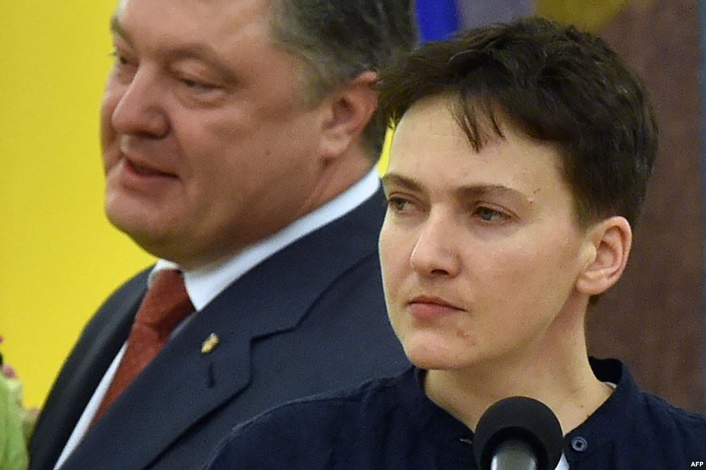 Савченко викрила Порошенка у жадібності - today.ua