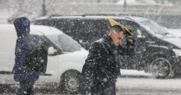 Мокрий сніг і дощі: якою буде погода в Києві в останні дні січня