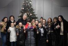 Порошенко з дружиною відкрили унікальну новорічну ялинку і каток - today.ua