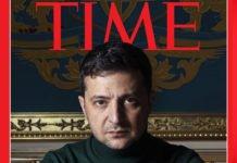 Владимир Зеленский впервые попал на обложку Time - today.ua