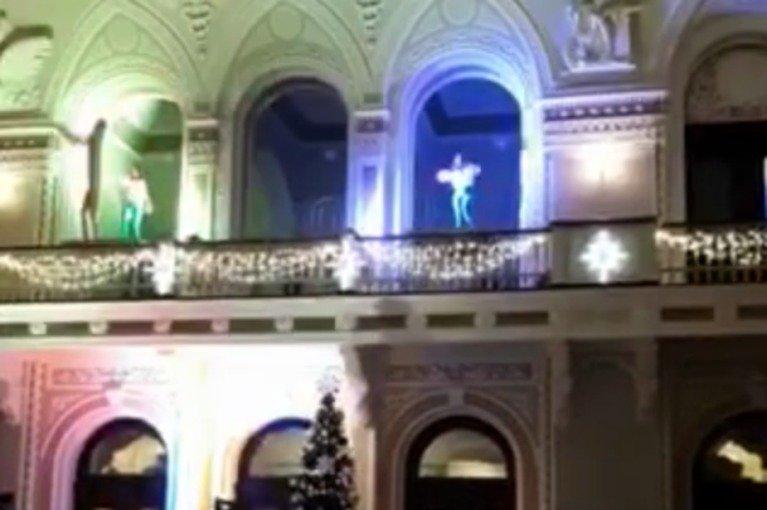 Празднуют доллар по 23: на новогоднем корпоративе Нацбанка были полуголые танцовщицы - today.ua