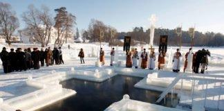 """""""Від водойми до церкви"""": традиції та підготовка до купання в ополонці"""" - today.ua"""