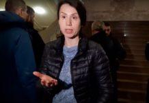 """""""Спеціально скрутили ногу"""": Чорновол потрапила в сутичку з охороною в ДБР - today.ua"""