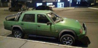 В Харькове заметили «Славуту» в кузове пикап - today.ua
