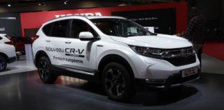 Навесні в Україні з'явиться економна Honda CR-V - today.ua