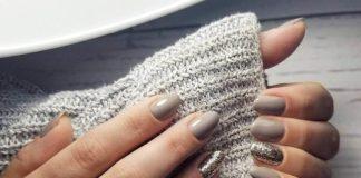 Минимализм в маникюре 2020: модные варианты нейл-арта в сером цвете - today.ua