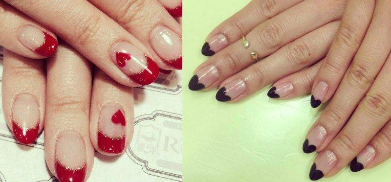 Манікюр на День святого Валентина: варіанти святкового дизайну нігтів (фото)
