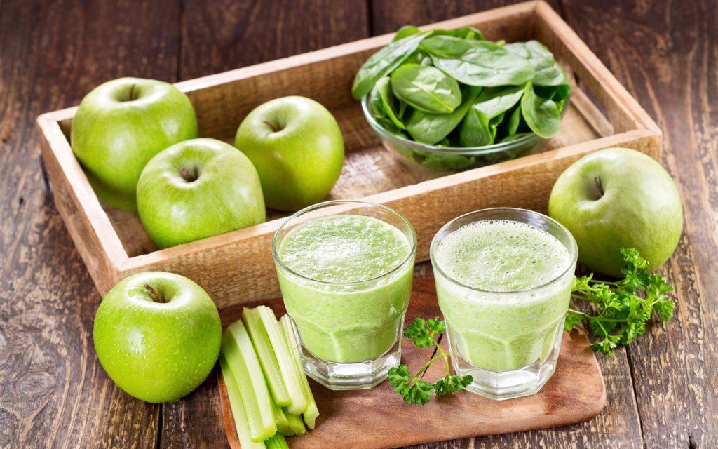 Диеты на зеленых продуктов