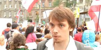 Ходил на митинги и был в массовке на телешоу: в сети появились видео с молодым Гончаруком - today.ua