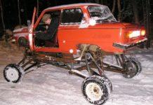 ЗАЗ-968 превратили в болотоход - today.ua