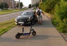 "Водителей за езду по тротуару хотят лишать ""прав"" - today.ua"